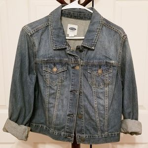 Oldnavy cropped Jean jacket